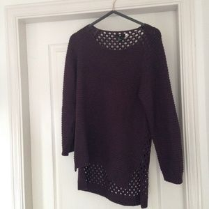 Dark purple Sweater (L)